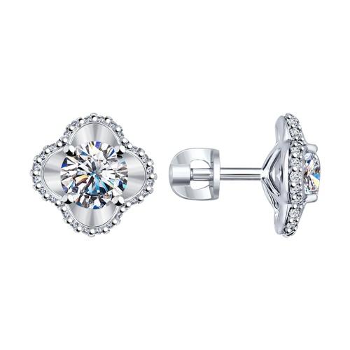 серебряные кольца с позолотой и камнями